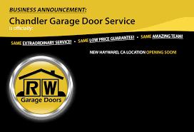 rw garage doorsChandler Garage Door Service  Garage Door Repair Service