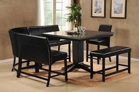 Dining Room Table Black Black Dining Room Set
