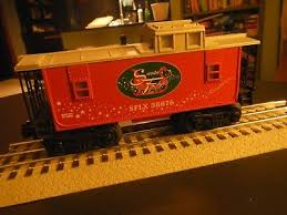 lionel santas flyer lionel santas flyer christmas caboose o gauge train holiday 6 30164