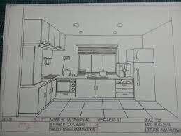 kitchen drawing perspective.  Kitchen To Kitchen Drawing Perspective I