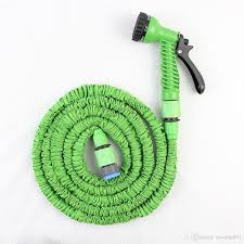 2019 hot ing 25ft 100ft garden hose expandable magic flexible water hose eu hose plastic hoses pipe with spray to watering from tracylu001