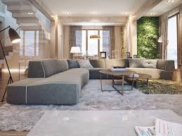 General: Masculine Living Room - Vertical Gardens