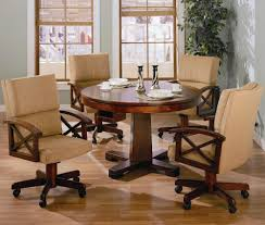 chair reviews good for back dining sets rolling chairs coaster marietta piece game office kitchen table and set alkar billiards large