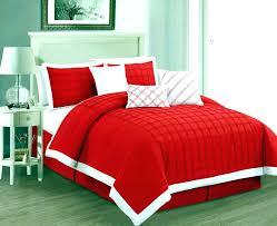 black comforter set queen red sets bed bath bedspread mouse and gray navy 7 piece velvet