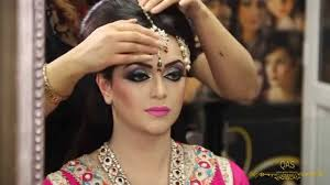 asian bridal makeup tutorial by qas of kashish traditional look you
