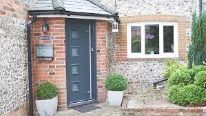 front doors. Xtreme Composite Front Door In Grey Doors