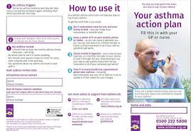 Asthma Action Plans Asthma Uk