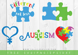 Svg (scalable vector graphics) file is a vector image format file, which is developed in xml (extensible markup language). Free Autism Awareness Svg Png Eps Dxf By Caluya Design