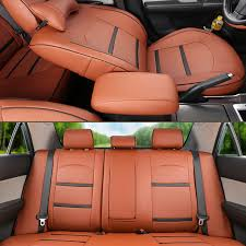 acura mdx rear seat cover cartailor pu leather cover seats for 2007 2008 2009 2010 2016