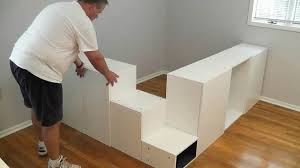 Awesome Ikea Hack Platform Bed Diy