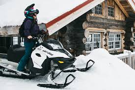 how to a snowmobile in the summer