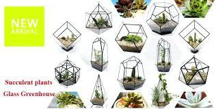glass plant terrariums s m l retro nostalgia geometric glass terrarium handmade glass plant terrarium indoor gardening decoration glass plant