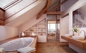 Cozy Bathrooms in Attic Apartments