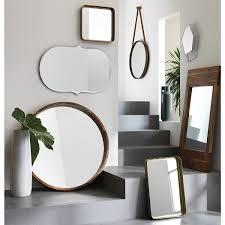 Decorative Mirror Groupings Acacia Wood 40 Mirror Decorative Mirrors Acacia Wood And
