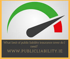 what limit of public liability insurance cover do i need