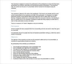 Presentation Outline Template 24 Free Sample Example