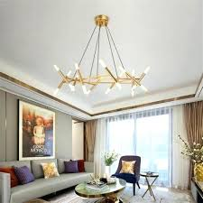 marvelous living room chandelier led chandelier living room modern minimalist nestle creative bedroom dining room decoration