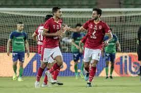 الأهلي يسجل الهدف الرابع في شباك مصر المقاصة - بوابة الأهرام