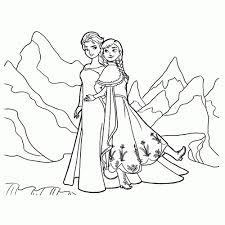 Goed Kleurplaten Disney Frozen Kleurplaat 2019