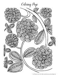 Free Spring Coloring Pages For Adults Products I Love Spring