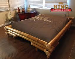 Bamboo Bed Frame King - Shinto