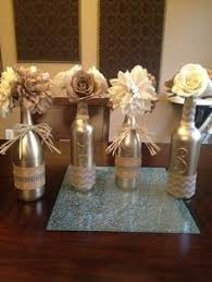 Ideas To Decorate Wine Bottles Tutorial for DIY Glittered Wine Bottles Bottle Wine and Masquerades 91