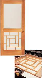 Storm Door Design Ideas Fascinating Front Screen Door Designs Exterior Doors