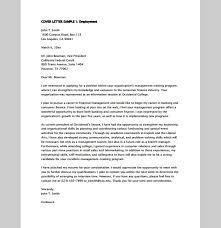 Cover Letter Sample Management Trainee Free Resume Samples