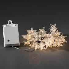 Außen Lichterkette Sterne Led 80 Flg Batterie