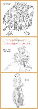 Small Picture Beauty and the Beast Coloring Pages Cleverly Me South Florida