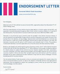 What Are Candidate Endorsement Letters Gorgeous 48 Endorsement Letter Samples Templates Sample Templates