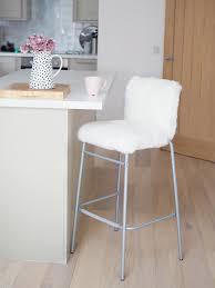 cheap bar stools ikea. Diy Faux Fur Bar Stool Ikea Hack Cheap Stools T