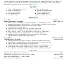 Police Officer Resume Templates Police Officer Cover Letter Example ...