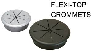 hafele flexible top cable grommet large or small plugs