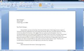 Cover Letter Microsoft Word Mail Merge