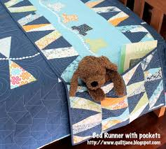 """Quilt Therapy & """"Children's Bed Runner & Matching Quilt"""" Free Patterns designed by Jane  Davidson for Quilt Jane from Moda Bakeshop · """" Adamdwight.com"""