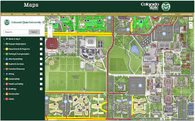 Csu Canvas Stadium Seating Chart Colorado State U Launches Interactive Map Campus Technology