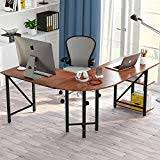 desks for home office. Large L-Shaped Desk, Little Tree 67\u201d Modern Corner Computer Desk Study Workstation Desks For Home Office E