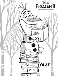 Check out our free printable coloring pages organized by category. Free Printable Disney Frozen 2 Olaf Coloring Page Mama Likes This
