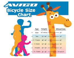 Kid Bike Chart Women And Bike