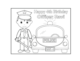 Free Personalized Coloring Pages Birthday Amazing Happy Printable