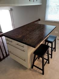 Rustic Reclaimed Wood Desk Home Kitchen Island Bar Coffee End Etsy