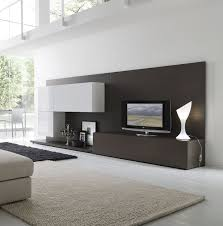White Living Room Cabinets Furniture Black And White Living Room With Smart Modular Wall