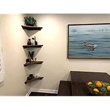 Corner Shelves For Speakers Amazing Rustic Floating Corner Shelves Adweekco
