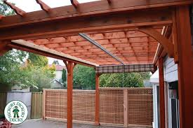 viewing shade structures this clubhouse mahogany deck sports a 10 x 20 country lane pergola with a