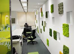 office greenery. Scandia Moss SM Panel Installation. Maintenance Free Office Greenery With Authentic Plant Benefits. I