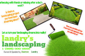 landscaping templates free create lawn care business flyers its easy postermywall