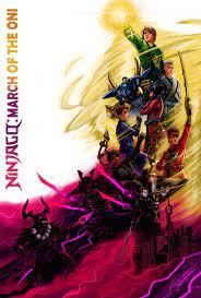 ArtStation - Ninjago Season Posters, Joshua Deck