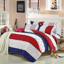 33 grand red white and blue duvet cover comforter set bedding live maigret covers