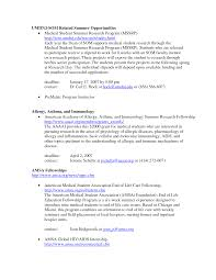 Pharmacologist Resume Example Medical Student Templates Internet
